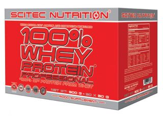 Scitec Nutrition 100% Whey Protein Professional - 30 x 30g Mix