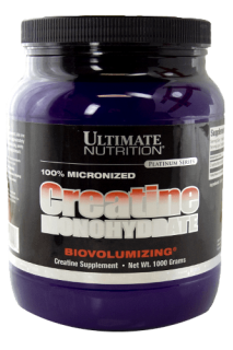 Ultimate Nutrition Creatine Monohydrate - 1000g Pulver