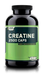 Optimum Nutrition Creatine 2500 - 200kapseln