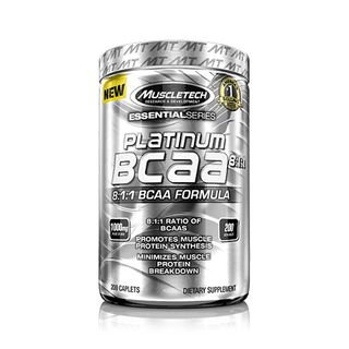 Muscletech Platinum BCaa 8:1:1 - 200 Tabletten