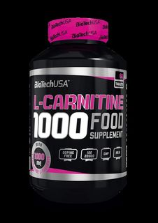 Biotech USA L- Carnitine 1000 - 60 Tabletten
