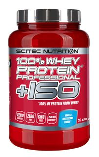 Scitec Nutrition 100 % Whey Protein Professional + Iso - 870 g
