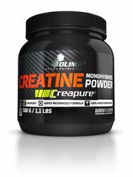 Olimp Nutrition Creatine Monohydrate Powder - 500g Pulver...