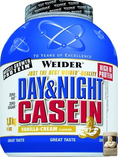 WEIDER Day& Night Casein  - 1800g